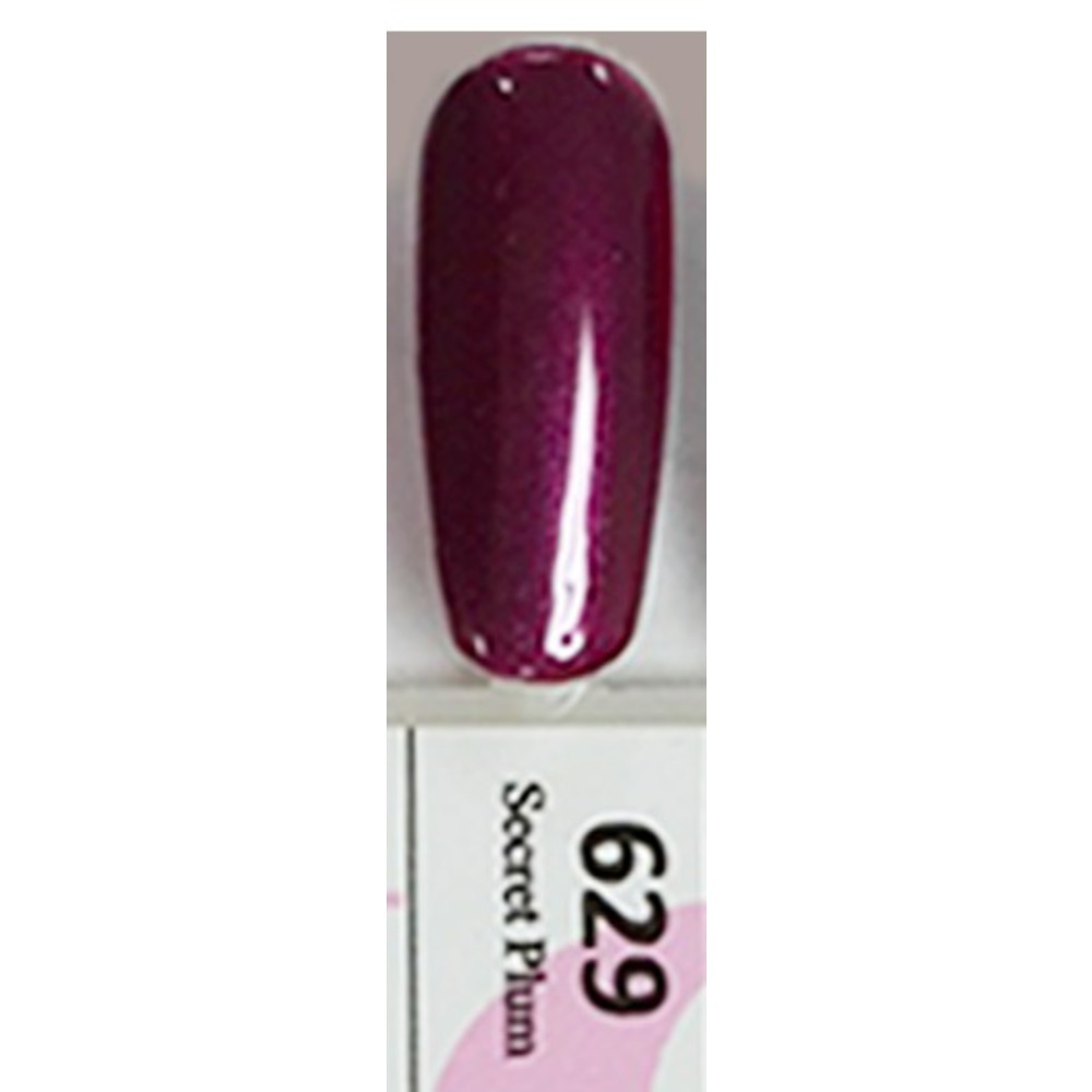 Duo Gel Pack - SECRET PLUM - G629 1 Gel Polish 0.47 oz. + 1 Lacquer ...