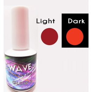 WaveGel Glow in the Dark Soak Off Gel Polish - GLOW 3 0.5 oz. ()