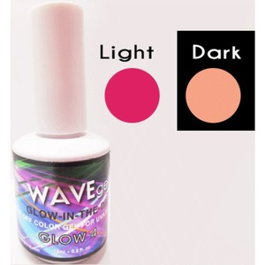 WaveGel Glow in the Dark Soak Off Gel Polish - GLOW 4 0.5 oz. ()
