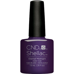 CND Shellac - Fall 2017 NightSpell Collection - Eternal Midnight 0.25 oz. - The 14 Day Manicure is Here! (768791)