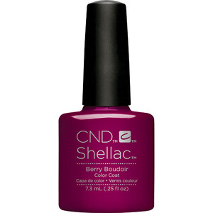 CND Shellac - Fall 2017 NightSpell Collection - Berry Boudoir 0.25 oz. - The 14 Day Manicure is Here! (768788)