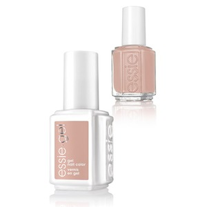 Essie Gel & Essie Lacquer Duo - Wild Nudes Collection - BARE WITH ME - 1 Gel Nail Color + 1 Enamel Nail Color (#1123G - #1123)