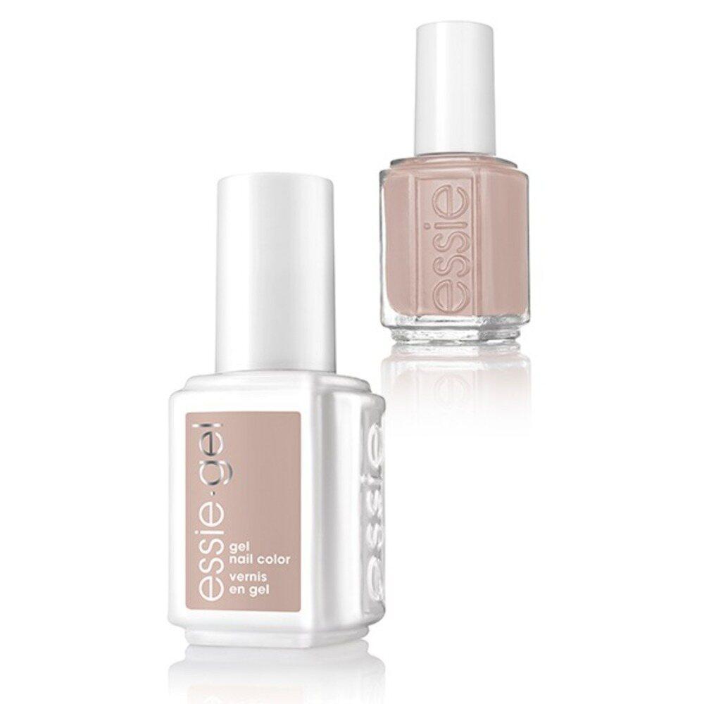 Essie Gel & Essie Lacquer Duo - Wild Nudes Collection - WILD NUDE - 1 Gel  Nail Color + 1 Enamel Nail Color (#1124G - #1124)