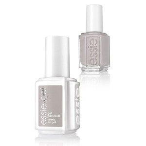 Essie Gel & Essie Lacquer Duo - Wild Nudes Collection - WITHOUT A STITCH - 1 Gel Nail Color + 1 Enamel Nail Color (#1125G - #1125)