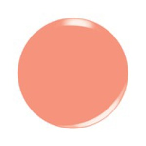 Kiara Sky Soak Off Gel Polish + Matching Lacquer - Ice Cream Parlour Collection - PEACH-A-ROO - #562 (24390)