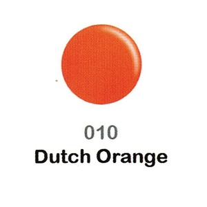 DND Duo Gel Pack - DC Collection - DUTCH ORANGE - #010 1 Gel Polish 0.47 oz. + 1 Lacquer 0.47 oz. in Matching Color (DND-DC-010)