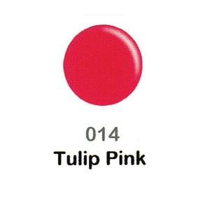 DND Duo Gel Pack - DC Collection - TULIP PINK - #014 1 Gel Polish 0.47 oz. + 1 Lacquer 0.47 oz. in Matching Color (DND-DC-014)