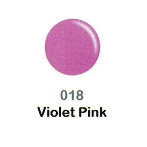 DND Duo Gel Pack - DC Collection - VIOLET PINK - #018 1 Gel Polish 0.47 oz. + 1 Lacquer 0.47 oz. in Matching Color (DND-DC-018)