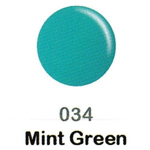 DND Duo Gel Pack - DC Collection - MINT GREEN - #034 1 Gel Polish 0.47 oz. + 1 Lacquer 0.47 oz. in Matching Color (DND-DC-034)