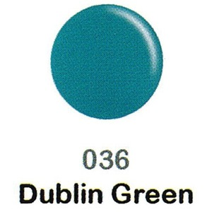 DND Duo Gel Pack - DC Collection - DUBLIN GREEN - #036 1 Gel Polish 0.47 oz. + 1 Lacquer 0.47 oz. in Matching Color (DND-DC-036)