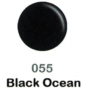 DND Duo Gel Pack - DC Collection - BLACK OCEAN - #055 1 Gel Polish 0.47 oz. + 1 Lacquer 0.47 oz. in Matching Color (DND-DC-055)