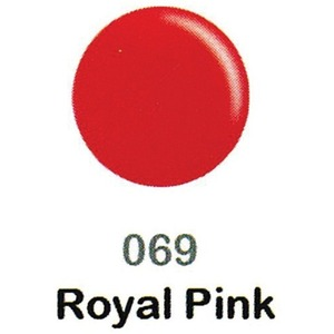 DND Duo Gel Pack - DC Collection - ROYAL PINK - #069 1 Gel Polish 0.47 oz. + 1 Lacquer 0.47 oz. in Matching Color (DND-DC-069)