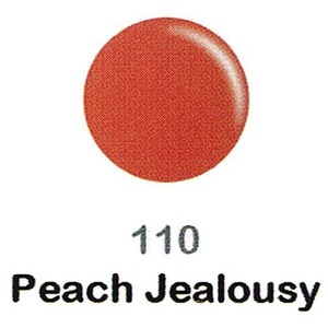 DND Duo Gel Pack - DC Collection - PEACH JEALOUSY - #110 1 Gel Polish 0.47 oz. + 1 Lacquer 0.47 oz. in Matching Color (DND-DC-110)