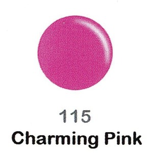 DND Duo Gel Pack - DC Collection - CHARMING PINK - #115 1 Gel Polish 0.47 oz. + 1 Lacquer 0.47 oz. in Matching Color (DND-DC-115)