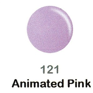 DND Duo Gel Pack - DC Collection - ANIMATED PINK - #121 1 Gel Polish 0.47 oz. + 1 Lacquer 0.47 oz. in Matching Color (DND-DC-121)