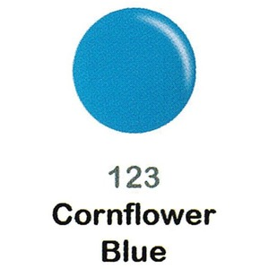 DND Duo Gel Pack - DC Collection - CORNFLOWER BLUE - #123 1 Gel Polish 0.47 oz. + 1 Lacquer 0.47 oz. in Matching Color (DND-DC-123)