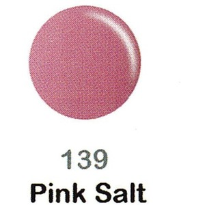 DND Duo Gel Pack - DC Collection - PINK SALT - #139 1 Gel Polish 0.47 oz. + 1 Lacquer 0.47 oz. in Matching Color (DND-DC-139)