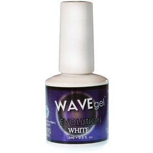 WaveGel Evolution White & Clear Gel 0.5 oz. (wavegel-evolution)