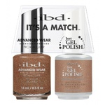 IBD It's a Match Duo - MOROCCAN SPICE - #65474 a Matching Set - (1) Advanced Wear Pro Lacquer 0.5 oz. + (1) Just Gel Polish 0.5 oz. (24442)