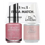IBD It's a Match Duo - SO IN LOVE - #65479 a Matching Set - (1) Advanced Wear Pro Lacquer 0.5 oz. + (1) Just Gel Polish 0.5 oz. (24446)