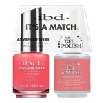 IBD It's a Match Duo - ROME AROUND - #65485 a Matching Set - (1) Advanced Wear Pro Lacquer 0.5 oz. + (1) Just Gel Polish 0.5 oz. (24451)