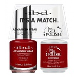IBD It's a Match Duo - ENTHRALLED - #65517 a Matching Set - (1) Advanced Wear Pro Lacquer 0.5 oz. + (1) Just Gel Polish 0.5 oz. (24478)