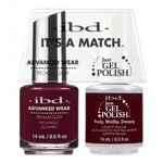 IBD It's a Match Duo - TRULY-MADLY-DEEPLY - #65522 a Matching Set - (1) Advanced Wear Pro Lacquer 0.5 oz. + (1) Just Gel Polish 0.5 oz. (24483)