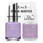 IBD It's a Match Duo - MY BABE - #65527 a Matching Set - (1) Advanced Wear Pro Lacquer 0.5 oz. + (1) Just Gel Polish 0.5 oz. (24488)