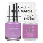 IBD It's a Match Duo - CASHMERE CUTIE - #65528 a Matching Set - (1) Advanced Wear Pro Lacquer 0.5 oz. + (1) Just Gel Polish 0.5 oz. (24489)