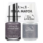 IBD It's a Match Duo - APHRODITE - #65540 a Matching Set - (1) Advanced Wear Pro Lacquer 0.5 oz. + (1) Just Gel Polish 0.5 oz. (24501)