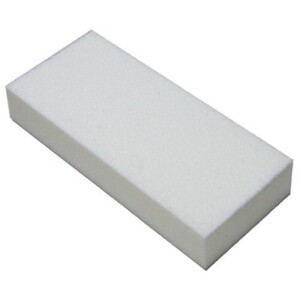 "Slim Buffer - White-White 80100 Grit Case of 500 Pieces - 3""x1.375""x0.5"" Each (10822-SBWW5)"