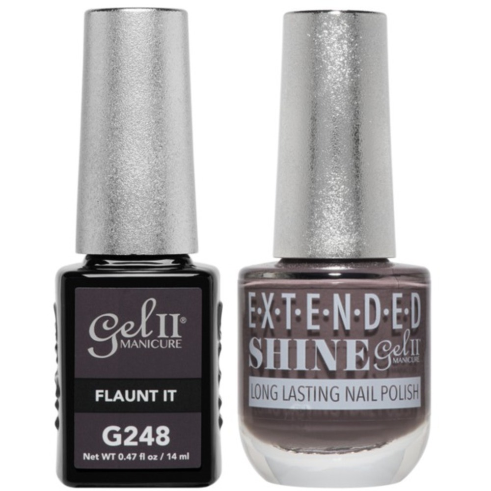Palm Gel II No Base Coat Gel Polish + Matching Extended Shine Polish ...