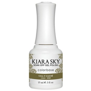 Kiara Sky Soak Off Gel Polish + Matching Lacquer - Dream of Paris Collection - CALL IT CLICHE - #568 (#568)