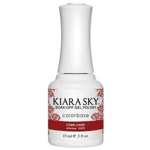 Kiara Sky Soak Off Gel Polish + Matching Lacquer - Dream of Paris Collection - CHERI CHERI - #570 (#570)