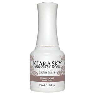 Kiara Sky Soak Off Gel Polish + Matching Lacquer - Dream of Paris Collection - FEMME FATALE - #569 (#569)