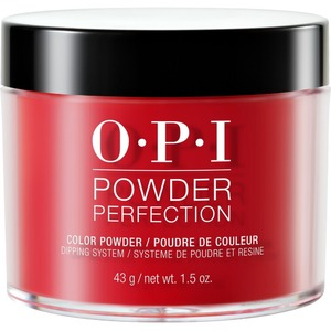OPI Powder Perfection - Color Dipping Powder - Big Apple Red 1.5 oz. (#DPN25)