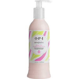 OPI Avojuice Hand & Body Lotion - Ginger Lily 8.5 oz. (AVG08)