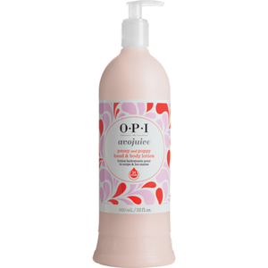 OPI Avojuice Hand & Body Lotion - Peony and Poppy 32 oz. (AVP07)