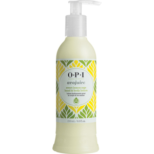 OPI Avojuice Hand & Body Lotion - Sweet Lemon Sage 8.5 oz. (AVP18)