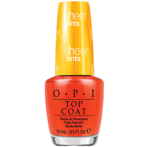 OPI Nail Lacquer - Top Coat I'm Never Amberrassed 0.5 oz. (9408418)