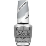 OPI Nail Lacquer - Color Paints Collection - Silver Canvas 0.5 oz. (NLP19)