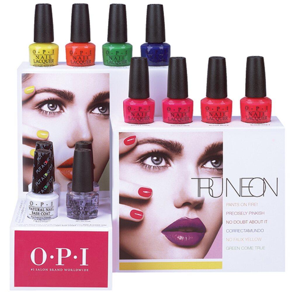 OPI Nail Lacquer - Tru Neon Collection - Green Come True 0.5 oz. (NLBC4)