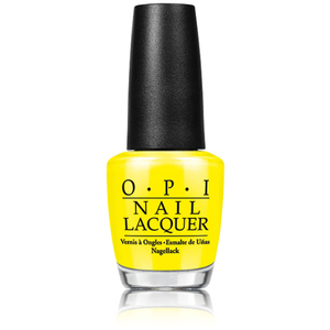 OPI Nail Lacquer - Tru Neon Collection - NoFauzYellow 0.5 oz. (NLBB8)