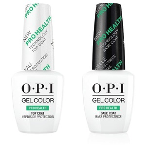 OPI GelColor Soak Off Gel Polish - PROHEALTH BASE & TOP COAT DUO PACK 0.5 oz. ()