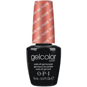 OPI GelColor Soak Off Gel Polish - Are We There Yet 0.5 oz. (GCT23)
