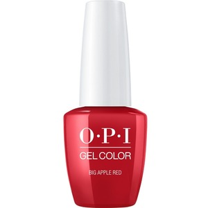 OPI GelColor Soak Off Gel Polish - BIG APPLE RED 0.5 oz. (GCN25A)