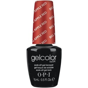 OPI GelColor Soak Off Gel Polish - Big Apple Red 0.5 oz. (GCN25)