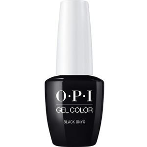 OPI GelColor Soak Off Gel Polish - BLACK ONYX 0.5 oz. (GCT02A)