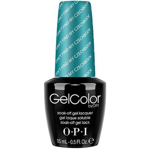 OPI GelColor Soak Off Gel Polish - Can't Find My Czechbook 0.5 oz. (GCE75)