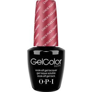 OPI GelColor Soak Off Gel Polish - Chick Flick Cherry 0.5 oz. (GCH02)